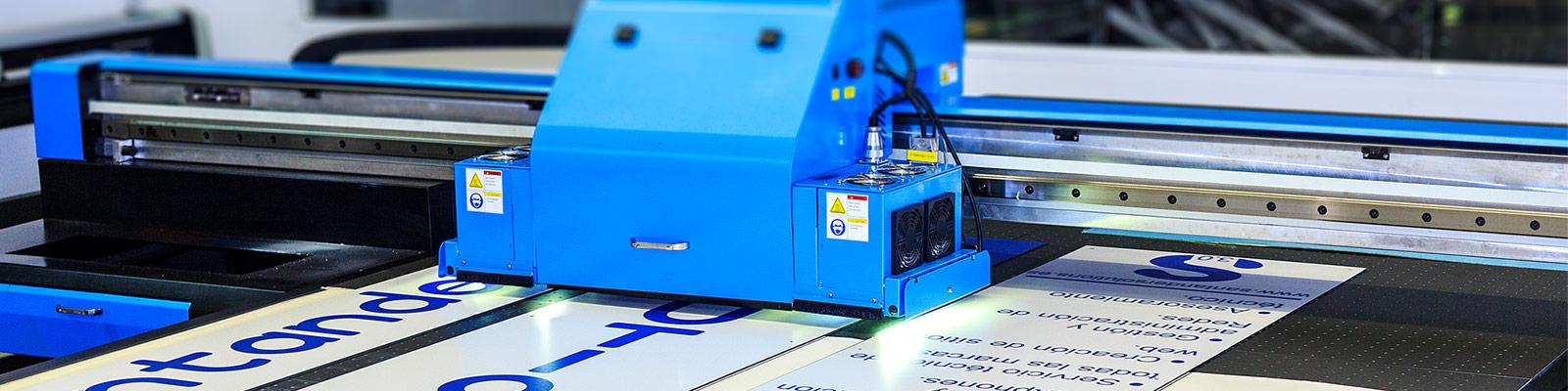 Impresora plana UVI