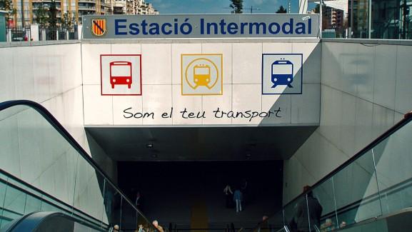 Rótulos Estació Intermodal