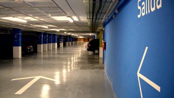 Señalética parking Son Espases
