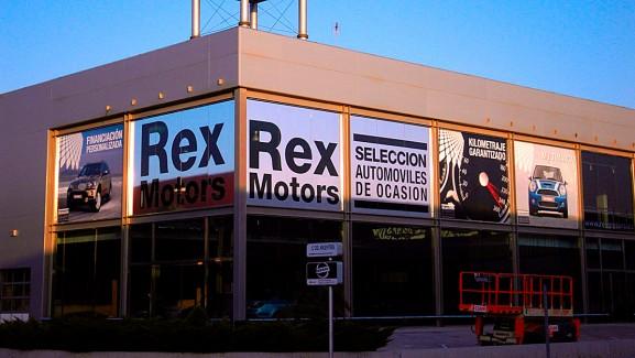 Vinilos REX Motors