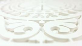 Detalle mandala fresada