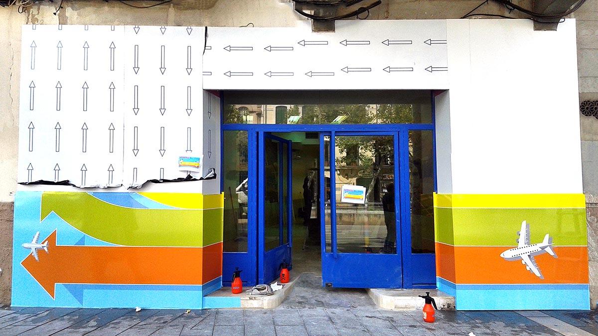 Rotulacion fachadas mallorca concord impresi n - Recubrimiento de fachadas ...