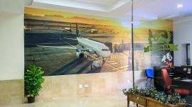 Mural vinilo Hightack Aviones