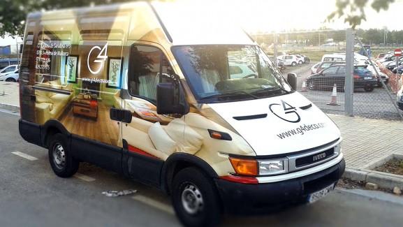 Rotulación integral furgoneta (5