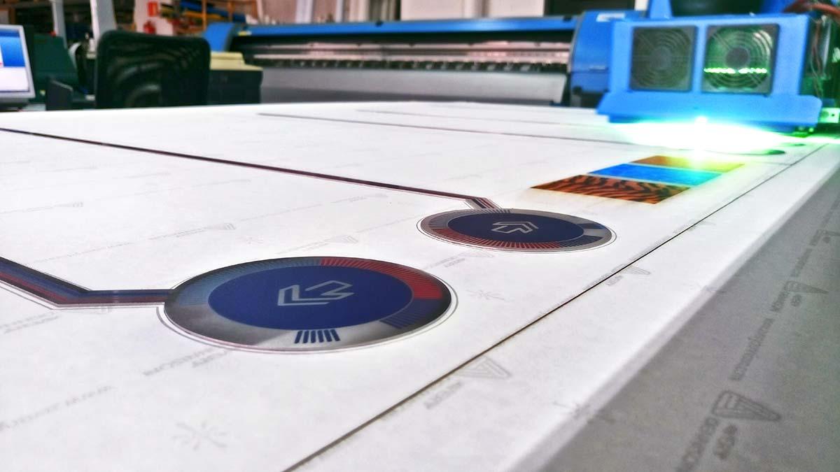 Impresión directa UVI sobre acero inox 3
