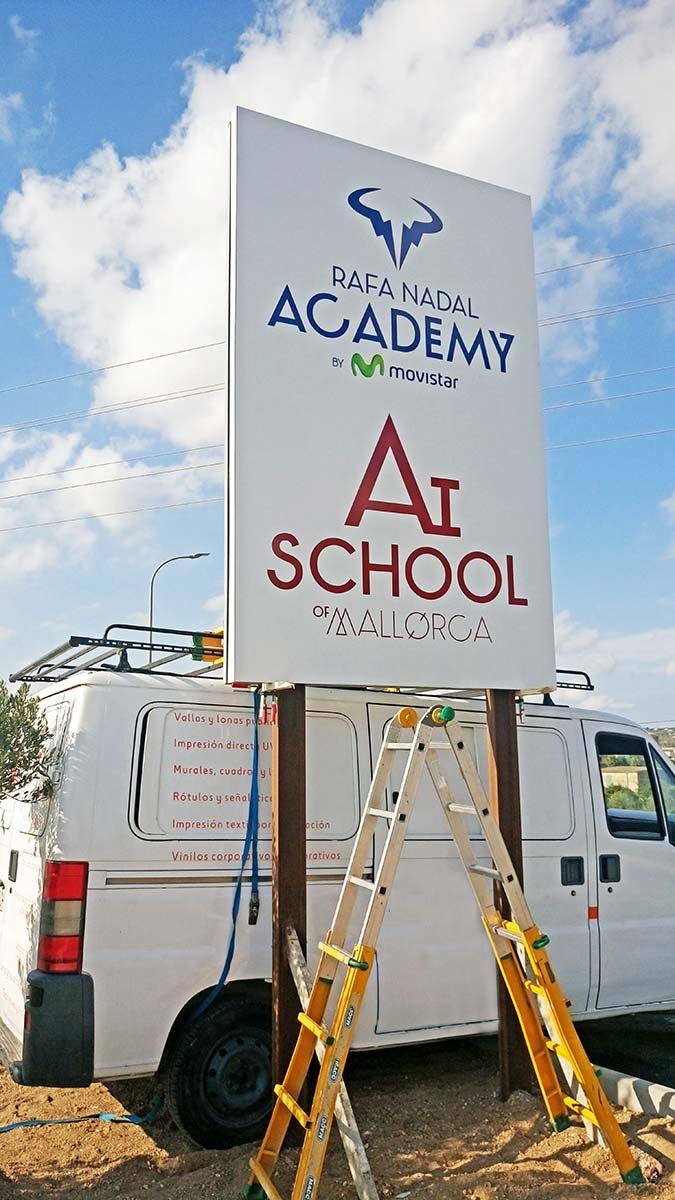Valla Rafa Nadal Academy